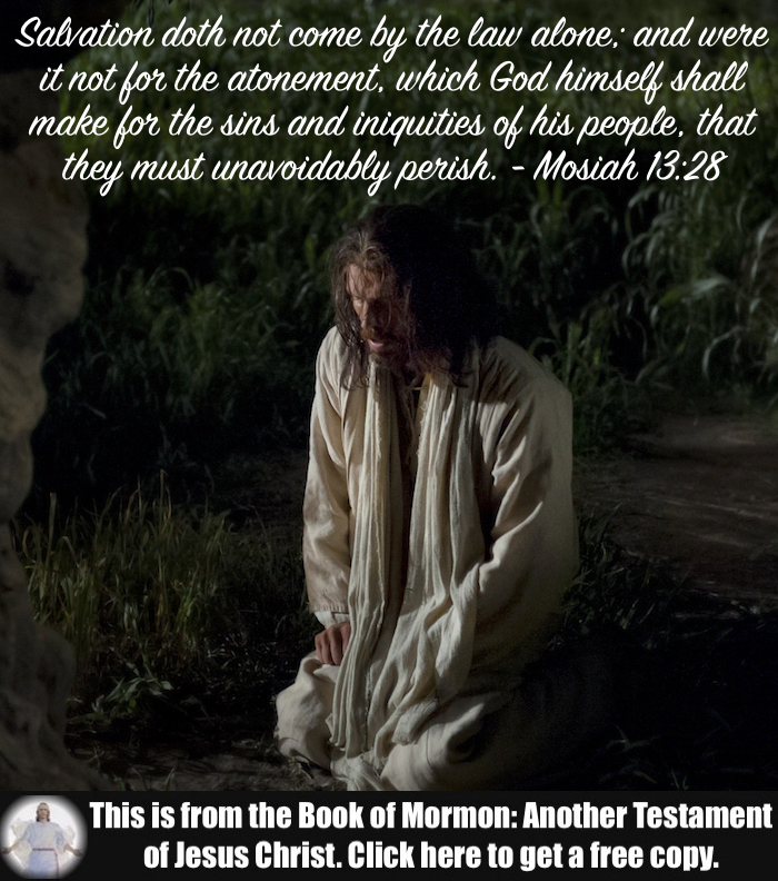 Six Scripture Verses about the Atonement!!