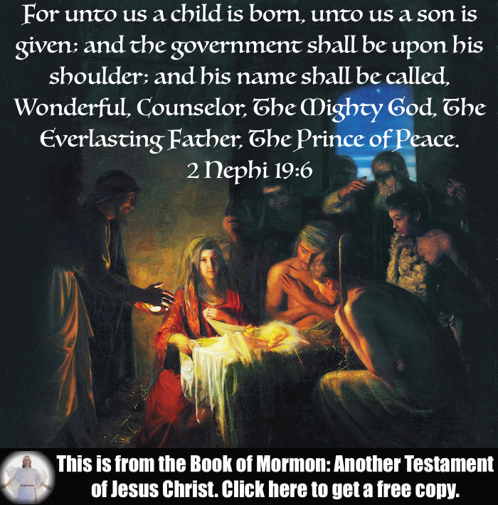 Four Scripture Verses about the Birth of Jesus Christ!!