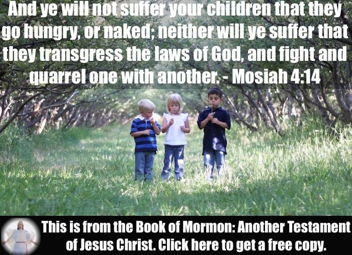 Six Scripture Verses about Children!!