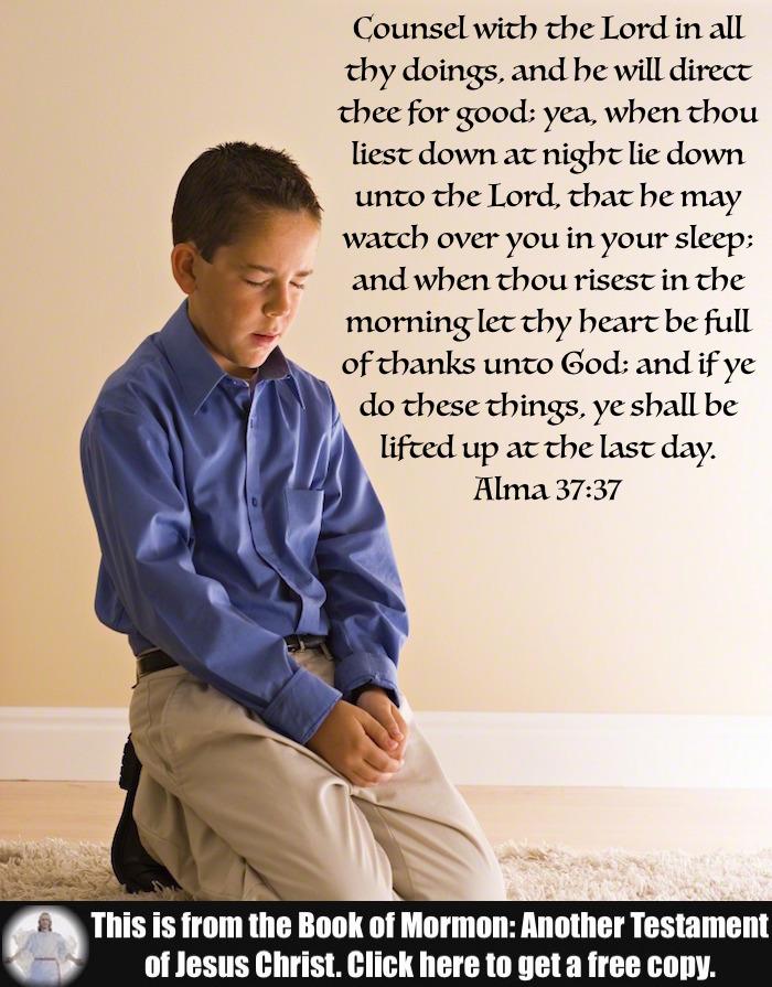 Six Scripture Verses about Prayer!!