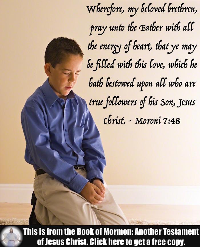 Five Scripture Verses about Prayer!!