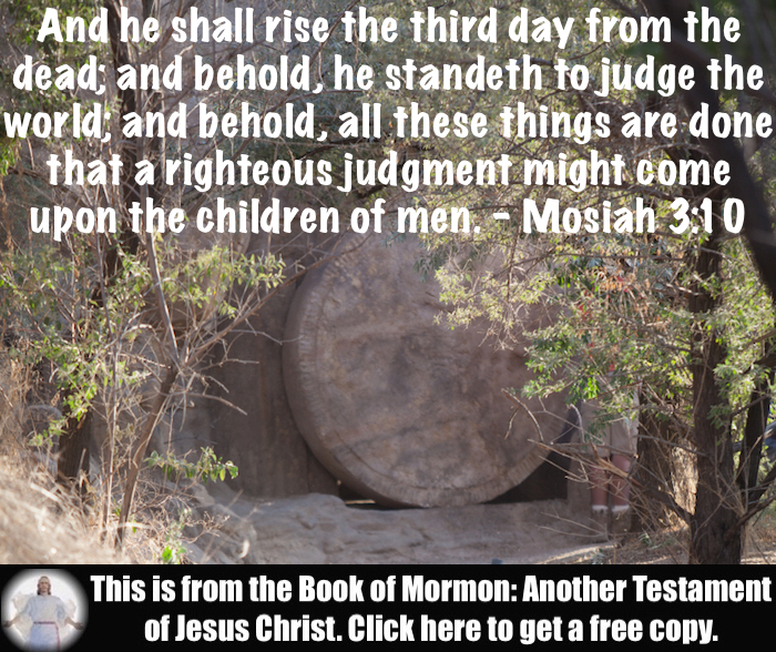 Seven Scripture Verses about the Resurrection of Jesus Christ!!